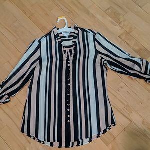 Express portofino striped shirt
